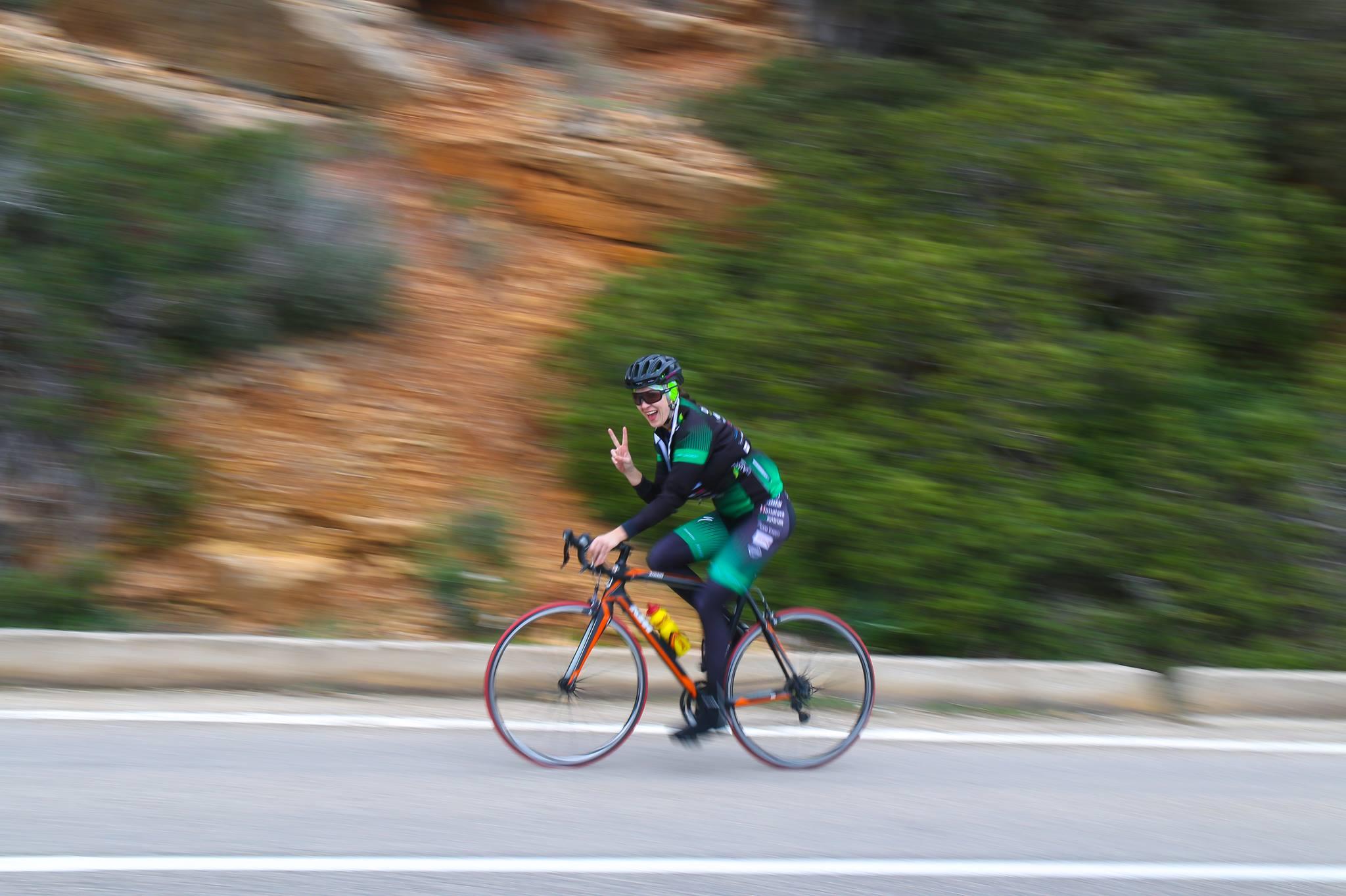 2017: Cantonament de Ciclism in Sardinia