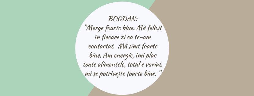 Testimonial Nutritie Sportiva: Bogdan