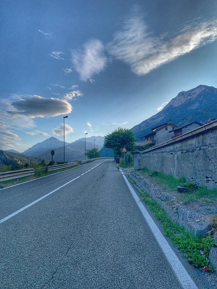 Marc Sandu, Roxana Sandu-Radu, muntii Alpi, Oulx, Italy, Italia