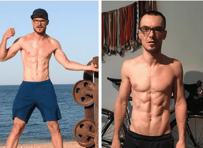 Testimonial Nutritie Sportiva: Marc, de la 14% la 8% grasime