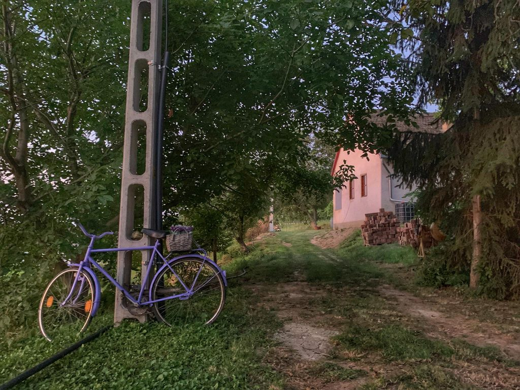 bicicleta, Alsonyek, Ungaria