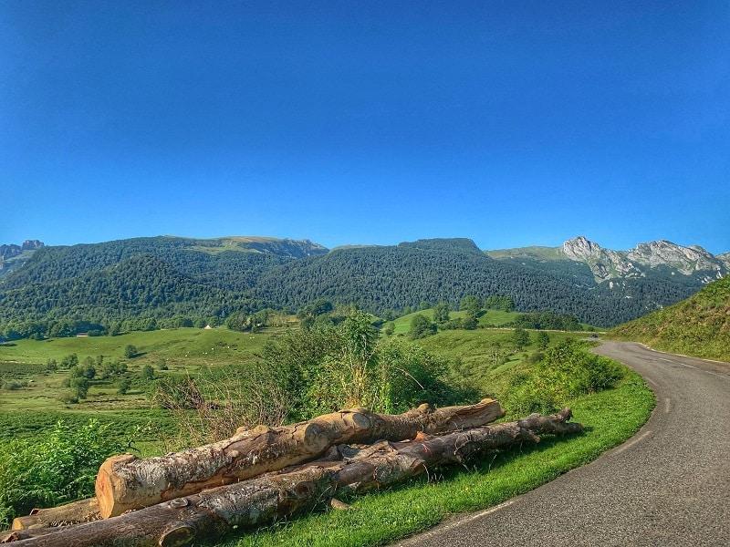 spre muntii Pirinei