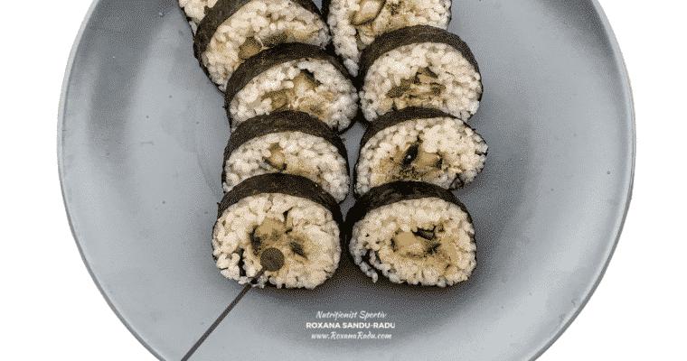 Homemade Sushi, 495 calorii