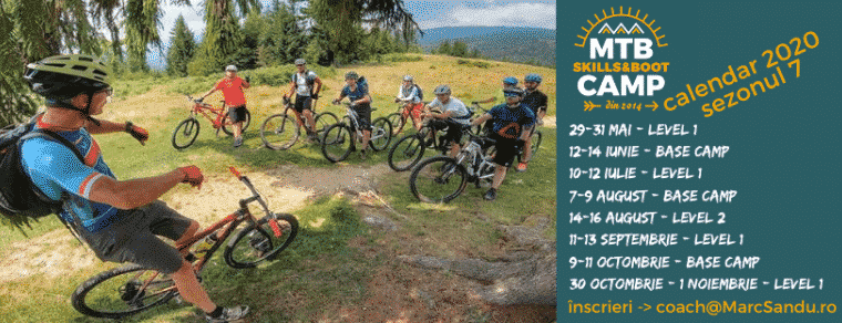 Tabara de mountainbike MTB Skills and Boot Camp