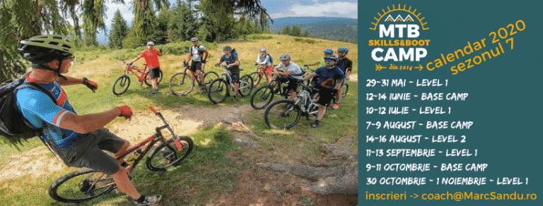 Tabara de mountainbike MTB Skills and Boot Camp