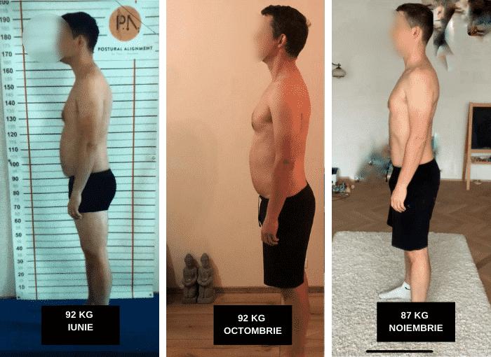 testimonial, transformare, slabit, fitness, nutritie