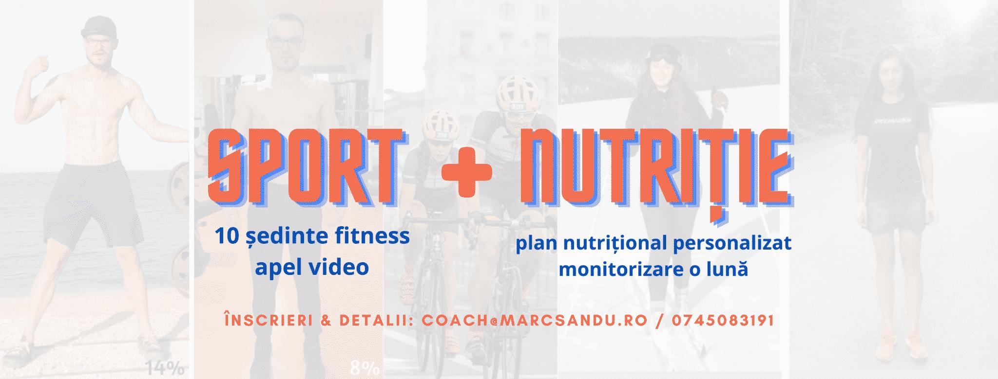 Pentru iarna 2021 iti propunem un program de sport si nutritie de acasa