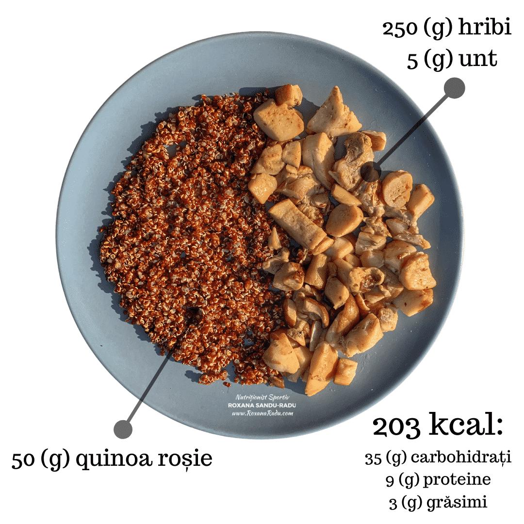 quinoa rosie, hribi, 203 kcal