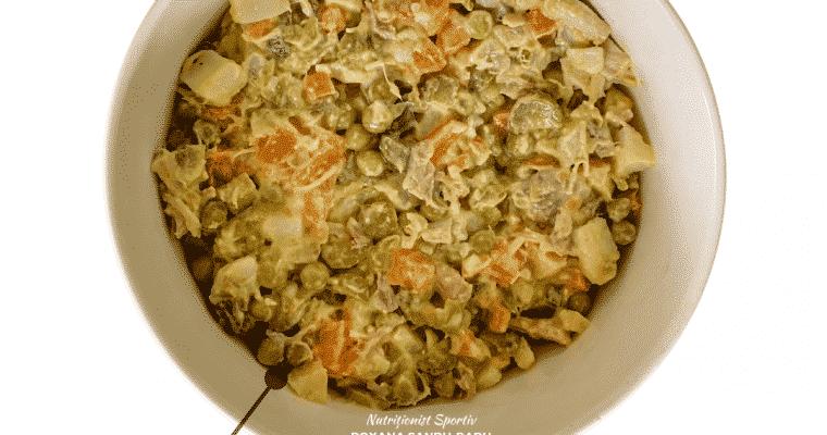 Salată de boeuf, 396 calorii